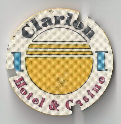 $1 Clarion Hotel Casino Chip Poker Craps Chipco Pic Of Building Nevada Chipped