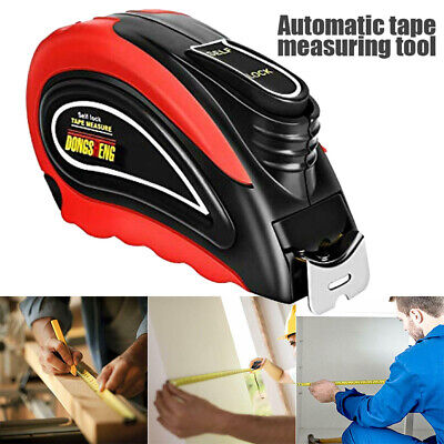 Retractable Tape Measure Construction Craft Woodworking Metric Measuring