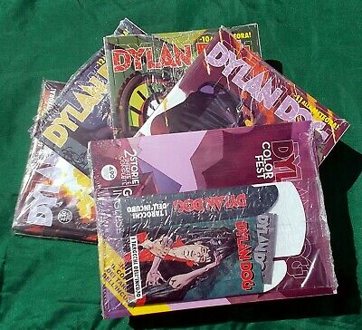 DYLAN DOG TAROCCHI set completo 5 albi BLISTERATI 387-388-389-390 Color Fest 28