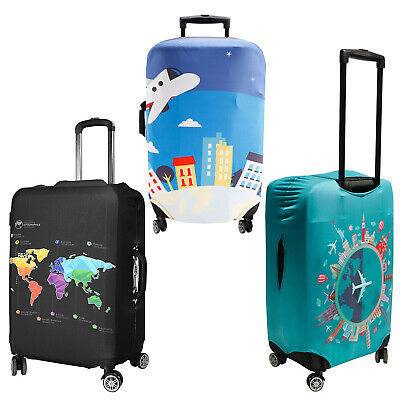 Other Travel Accessories Travel Luggage Cover Protector Elastic Suitcase Dust Scratch Proof 18-30 _Lefa Luggage & Travel Accessories