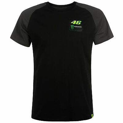 2019 Valentino Rossi VR46 Monster Mens Dual T-Shirt Official Team Merchandise