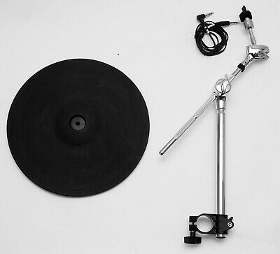 """Roland CY-12C 12"""" Crash Cymbal + Arm Mount Clamp V-Drums Electronic Dual Zone"""