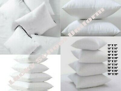 """NEW Cushion Inner Pads Inserts Fillers Scatters 16"""" to 30"""" Hollow Fibre Inners"""
