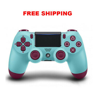 PlayStation 4 Dualshock Bluetooth Wireless Gamepad Controller For PS4 Berry Blue
