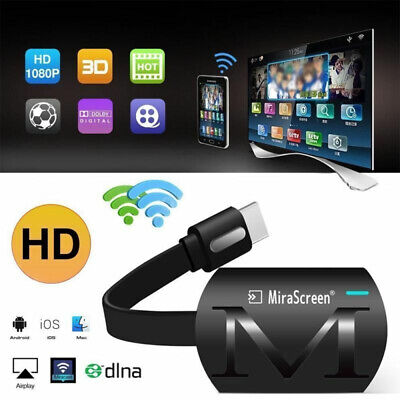HDMI Mirror Screen Wireless Wifi Display Adapter 1080P Miracast for Phone TV