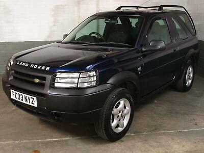 Aug 2003 LAND ROVER FREELANDER 2.0 TD4 MAASAI MARA 3 Door * MOT 08/05/20 * 160k