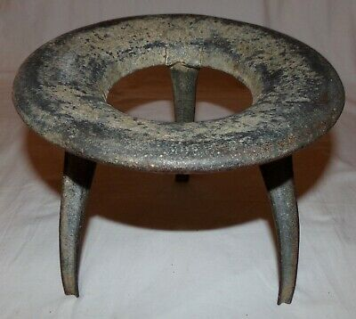 Antique Lansdowne Milking Stool Cherry Bassette Winner Company Philidelphia Rare