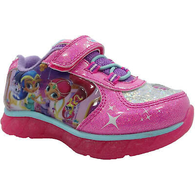NEW Shimmer and Shine Sneakers Toddler Child SIZE 8 OR 10 LIGHT UP!