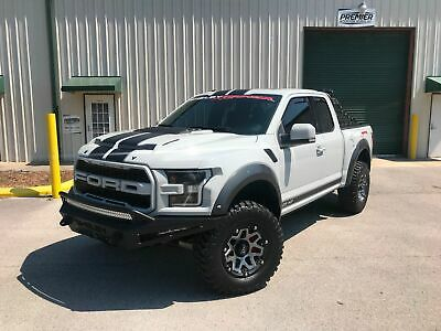 2017 Ford F-150 Shelby Raptor Rare Supercab Avalanche gray 2017 Shelby Performance 525HP Fox suspension loaded one of a kind must see truck