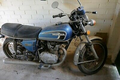 Pre-Owned 1974 Honda CB250 G5 for spares or restoration