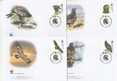WWF 4 x FDC Georgia 2007 - Vogels / Birds (286)
