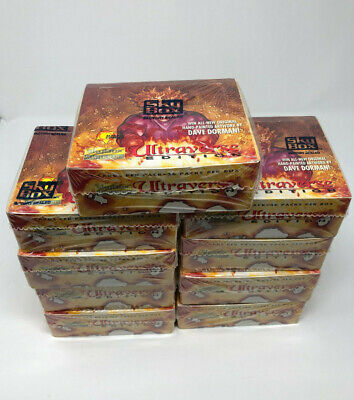 1994 Skybox Master Series ULTRAVERSE Cards Factory Sealed Box DAVE DORMAN
