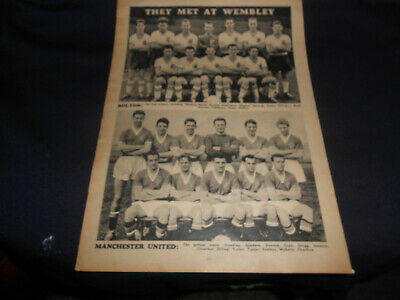 Magazine Cuttings From 1957-58 (Bolton/Manchester United/Brighton/Scunthorpe))