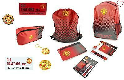 Official Man United Club Football Boys Accessories Gifts