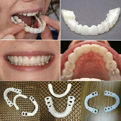1 paire de dents facettes Perfect Smile Cosmetic Confort couvre le fond supé OQ