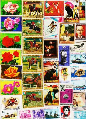Top Class Worldwide 1000 All Different Used Stamps Collection Lot #K0206