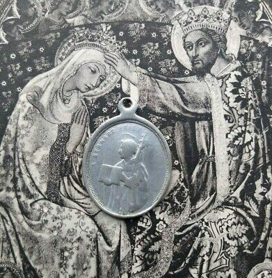 Antique St. Bernard St. Antoine Catholic Medal