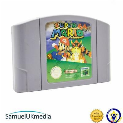 Super Mario 64 (N64) (Cartridge Only) (Damaged Label)