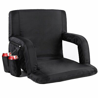Sportneer Stadium Seat Portable Seats Chairs for Bleachers with Padded Cushion