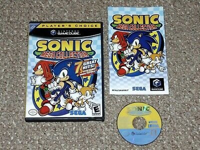 Sonic Mega Collection Nintendo GameCube Complete Player's Choice