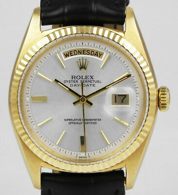 Rolex Oyster Perpetual Day-Date 18K Yellow Gold 1803 - Silver Dial (1964)