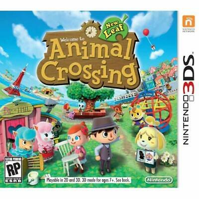 Animal Crossing: New Leaf For 3DS Very Good 0E