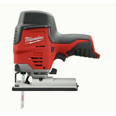 Milwaukee 2445-20 M12 Cordless High Performance Jig Saw Quik-Lok Clamp