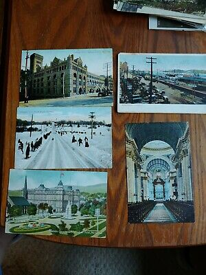 Vintage Early 1900s Postcards from Montreal Canada