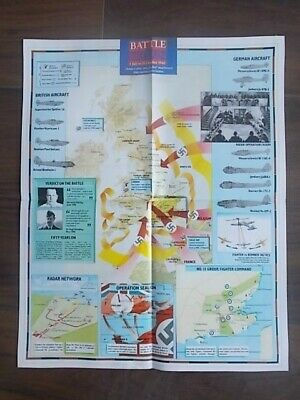 Images Of War Wwii Campaign Map - Battle Of Britain 1940