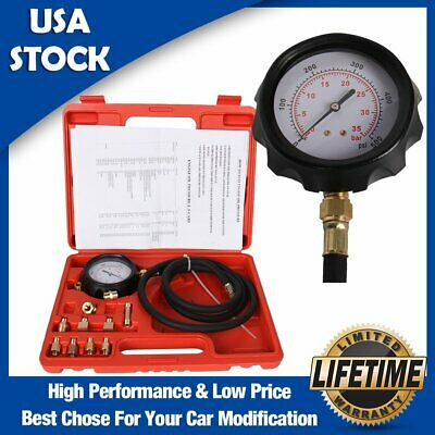 12Pcs 0-500 PSI/10 bar Automotive Tools Transmission Engine Oil Pressure Tester