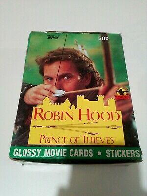 Robin Hood Prince Of Thieves Trading Cards Box 36 Packs