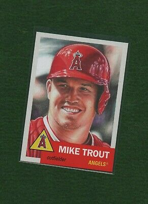 2019 Topps Living Set #200 Mike Trout Angels Short Print