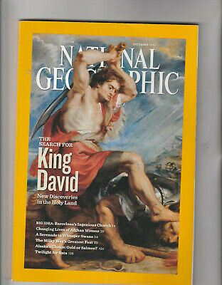 NATIONAL GEOGRAPHIC Magazine December 2010 - The Search For King David