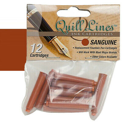 Quill Lines Replacement Cartridge 12-Pack - Sanguine
