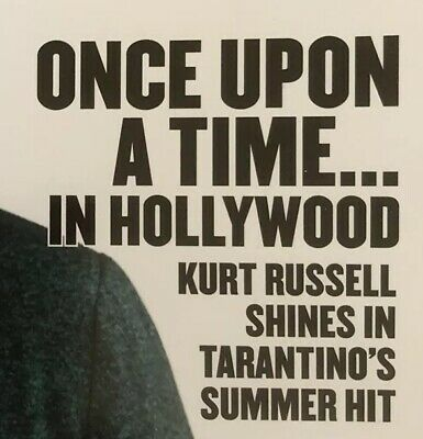 """Kurt Russell """"Once Upon A Time In Hollywood"""" Quentin Tarantino - Feature Story"""