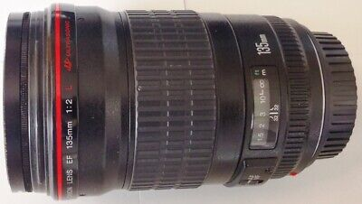 Canon EF 135mm f/2L USM Lens for Canon SLR Cameras Fixed