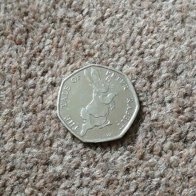 The Tale Of Peter Rabbit 50P Coin 2017 X 1 - Fifty Pence Beatrix Potter