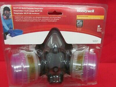 Honeywell MC/P100 Multi-Purpose Respirator Medium - NEW