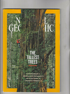 NATIONAL GEOGRAPHIC Magazine October 2009 - Redwoods: The Tallest Trees