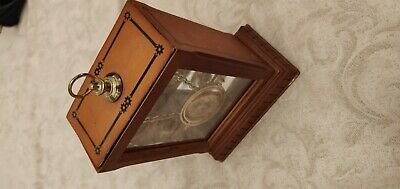 Harry Potter time turner necklace in wooden display case nobles collection