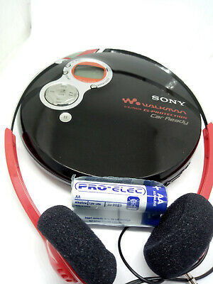 Sony D-EJ758CK CD Walkman Discman Portable Personal Music Compact Disc Player