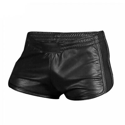 Mens 100% Genuine Lambs Leather Silky Soft Boxer Shorts *New*