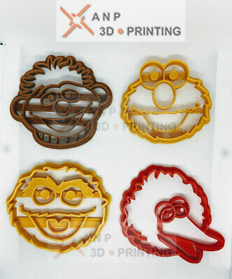 Sesame Street  Cookie Cutters Set 5 Characters