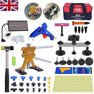 Car Body Dent Paintless Repair Dent Puller Lifter Glue Gun Hail Repair Tools Kit