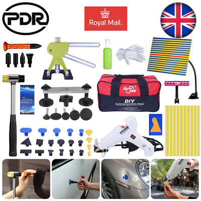 52x Auto Car Body Paintless Hail Removal Dent Lifter Puller Line Board PDR Tools