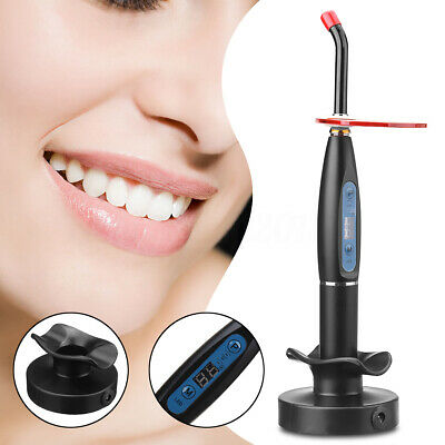 Dental Teeth LED Curing Light Wireless Cordless Cure Lamp 7mm 2000mw Home
