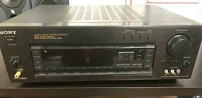 SONY FM /AM Stereo A/V Surround Sound Receiver STR-DE575
