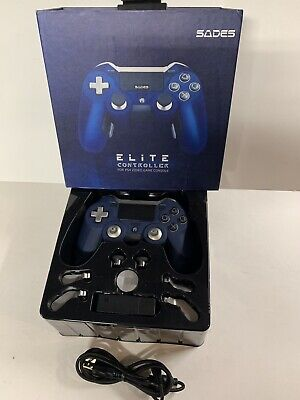 Sades Elite Trident Wireless Game Controller PS4/PC/Laptop Amazing Tested Euc