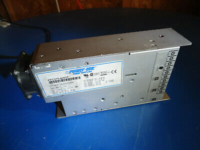 Power-One Pfc375-4201F Power Supply Pulled From Working Environment