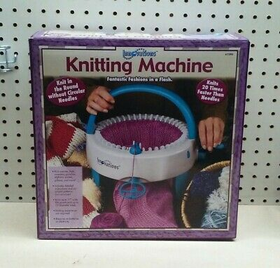 Innovations #7590 Knitting Machine Knit In The Round